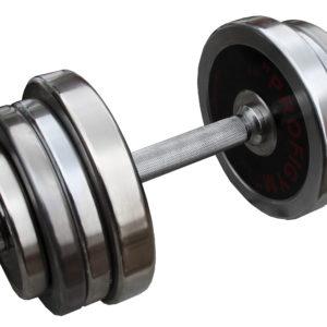 ГРРА-20 Гантель разборная обрезиненная Антат 20 кг