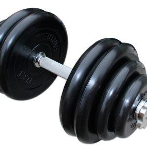 ГРРА-10 Гантель разборная обрезиненная Антат 10 кг