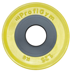 ДОЦ-1,25/51 Диск для штанги олимпийский 1,25 кг желтый